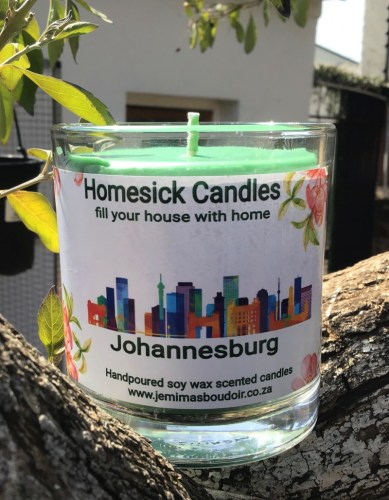 homesick scented candle Johannesburg